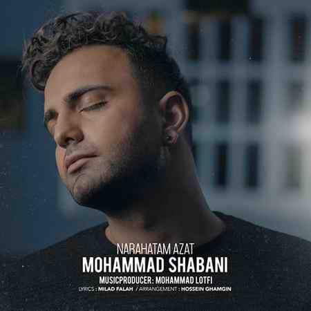دانلود آهنگ ناراحتم ازت محمد شعبانی